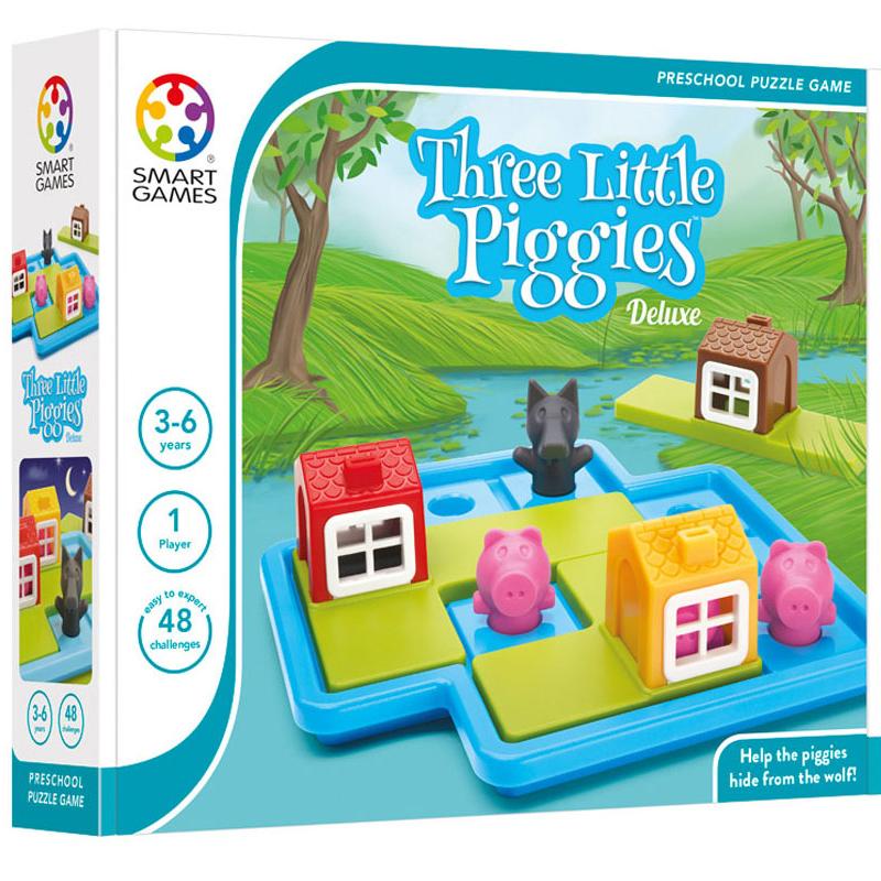 Smartgames επιτραπέζιο<br/> 'Τρία Μικρά Γουρουνάκια'