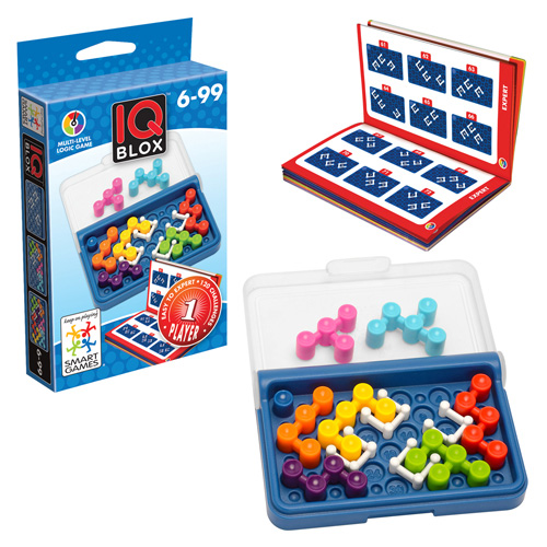 Smartgames επιτραπέζιο IQ Blox (120 challenges)