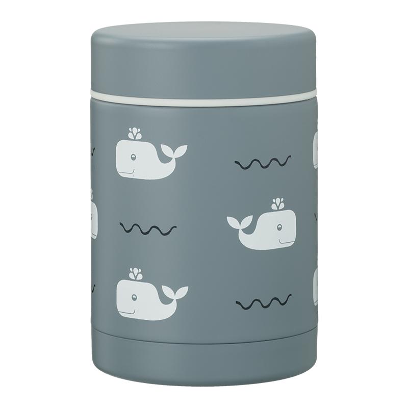 Fresk: Θερμός από ανοξείδωτο ατσάλι φαγητού 300ml - Whale