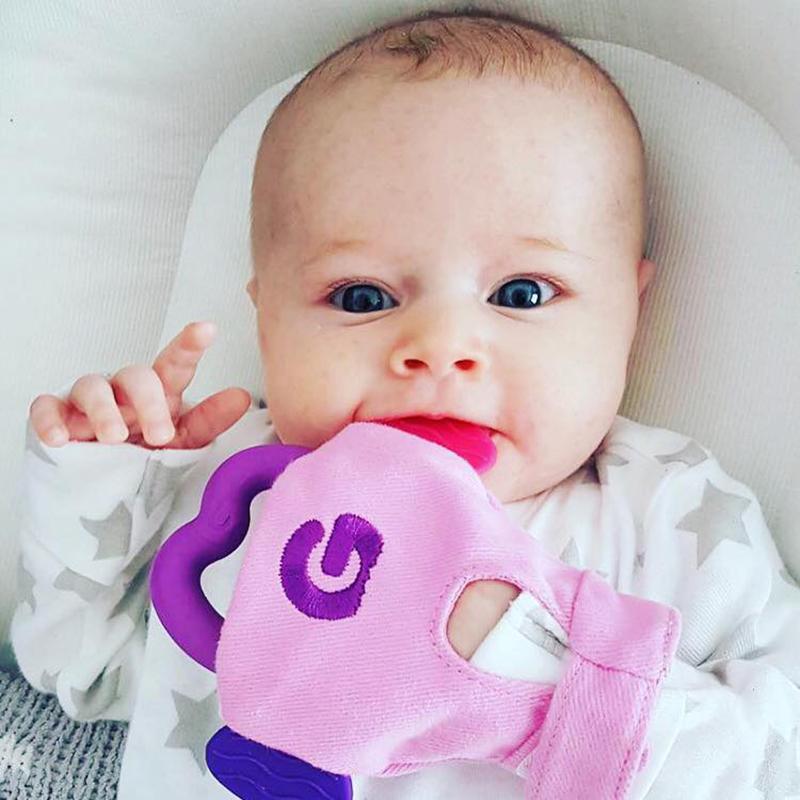 Γάντι οδοντοφυΐας Gumme glove ροζ