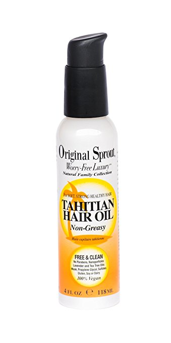 Tahitian Hair Oil 118ml