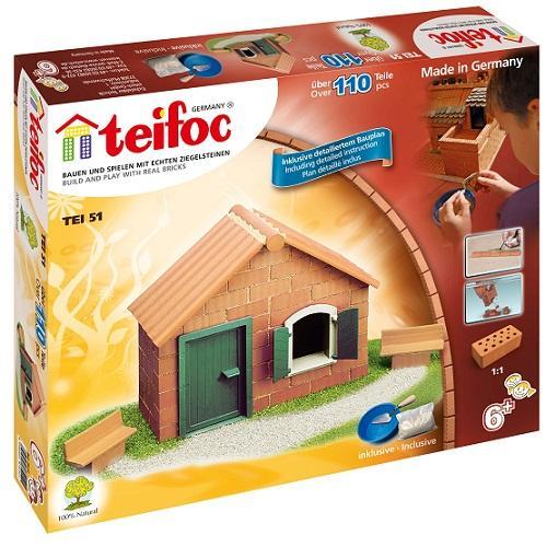 Teifoc-Χτίζοντας σπίτι με τούβλα (σετ αρχαρίων)