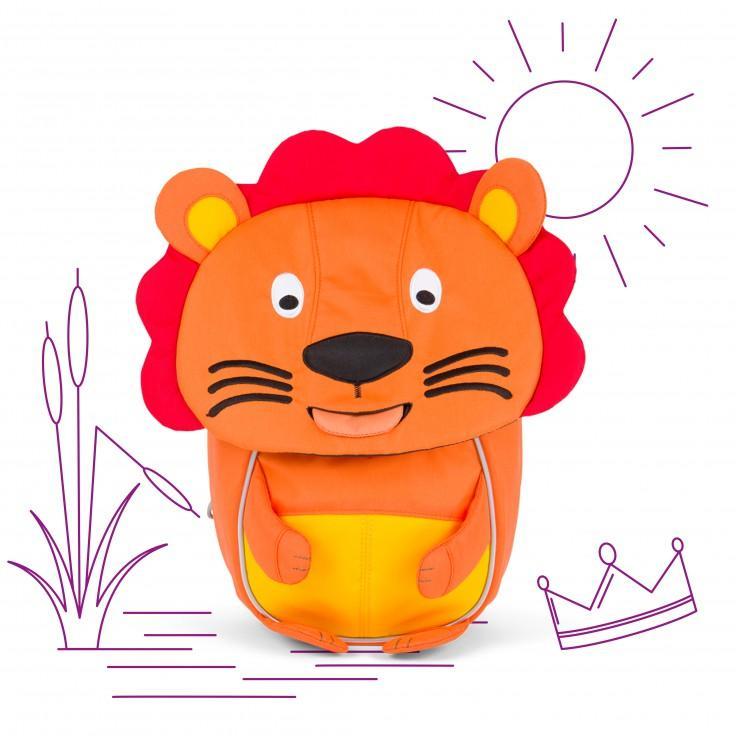 Τσάντα πλάτης νηπιαγωγείου AFFENZAHN λιονταράκι