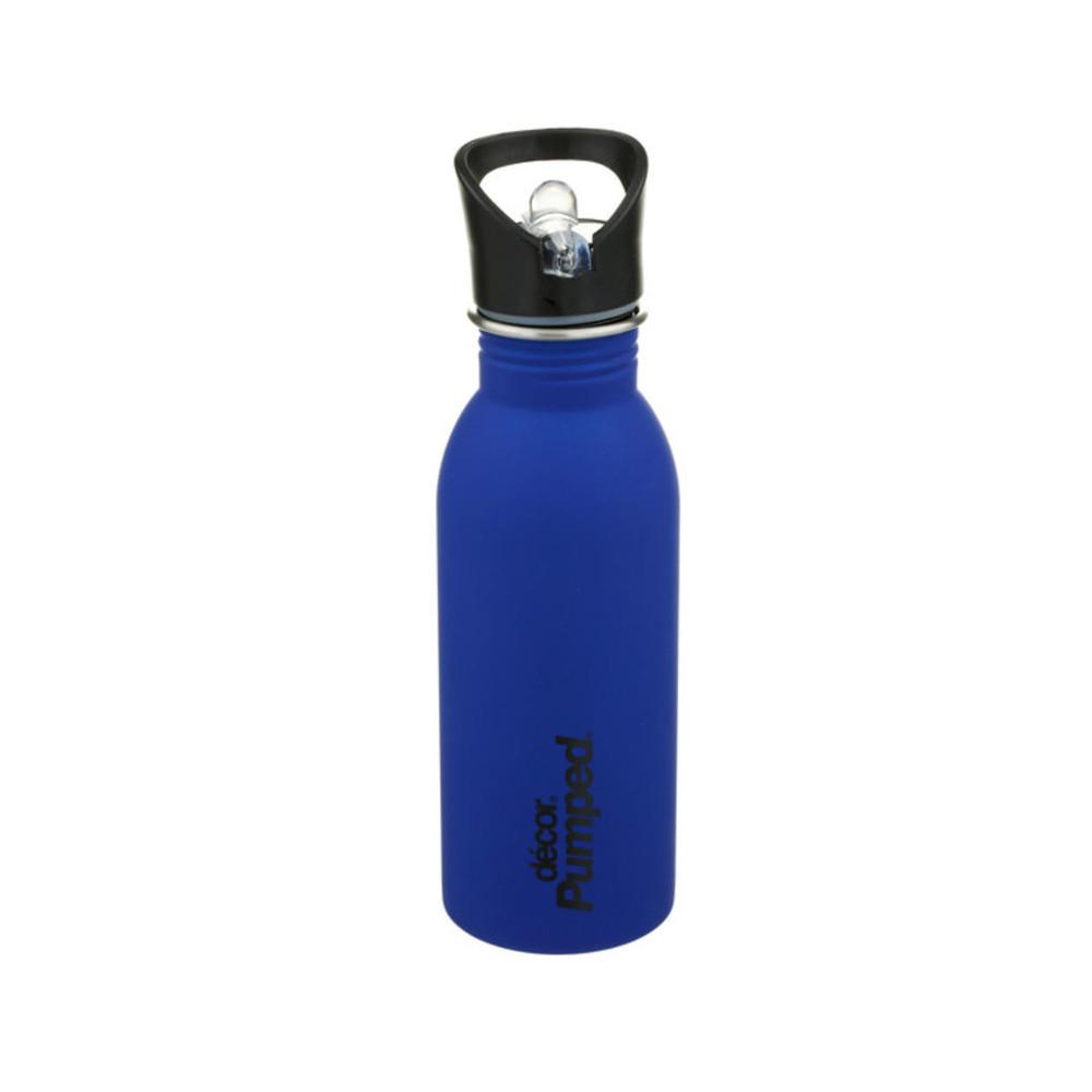 Μπουκάλι ανοξείδωτο DECOR μπλε ματ 500ml
