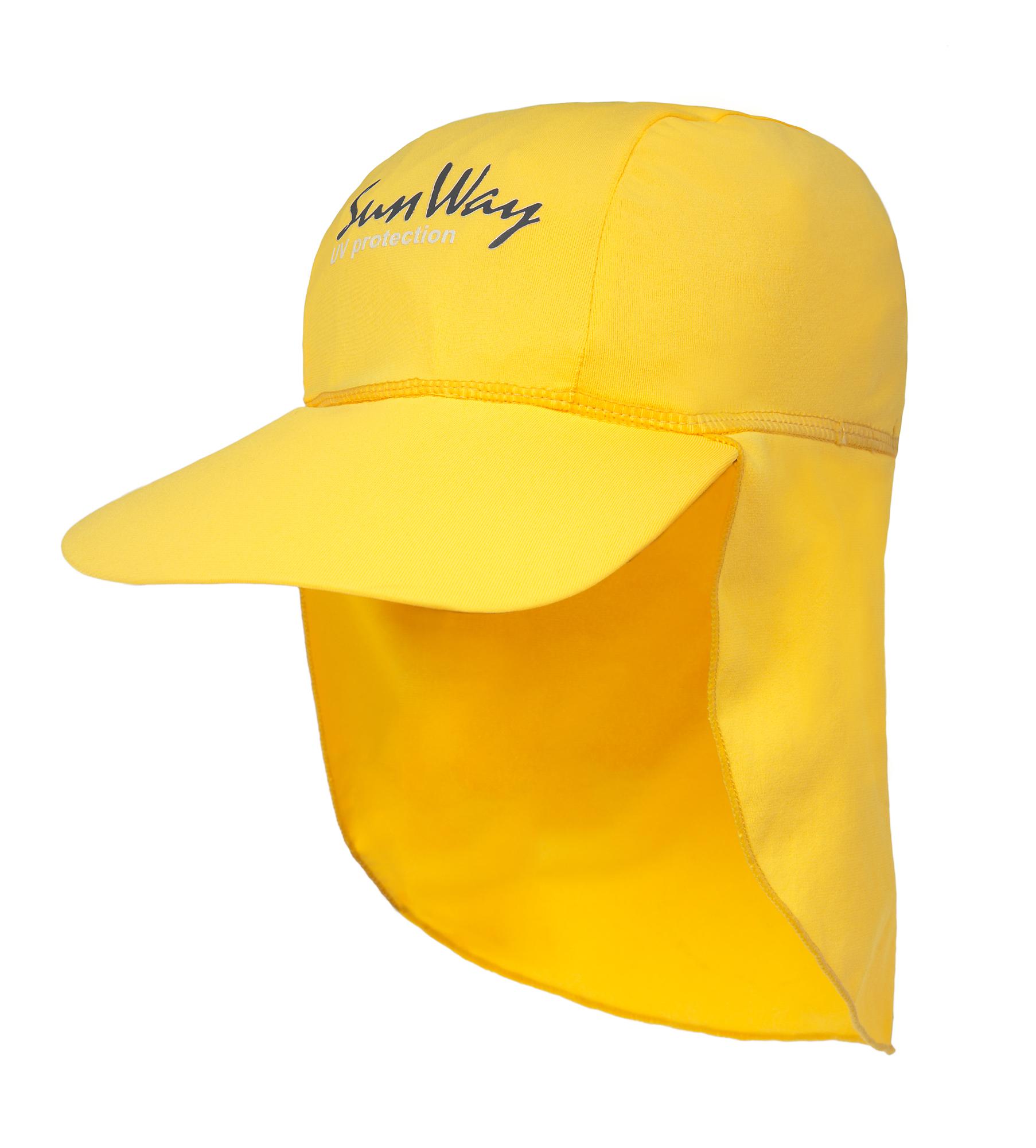 Αντηλιακό καπέλο baby UV κίτρινο