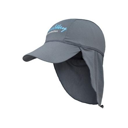 Αντηλιακό καπέλο baby UV γκρι