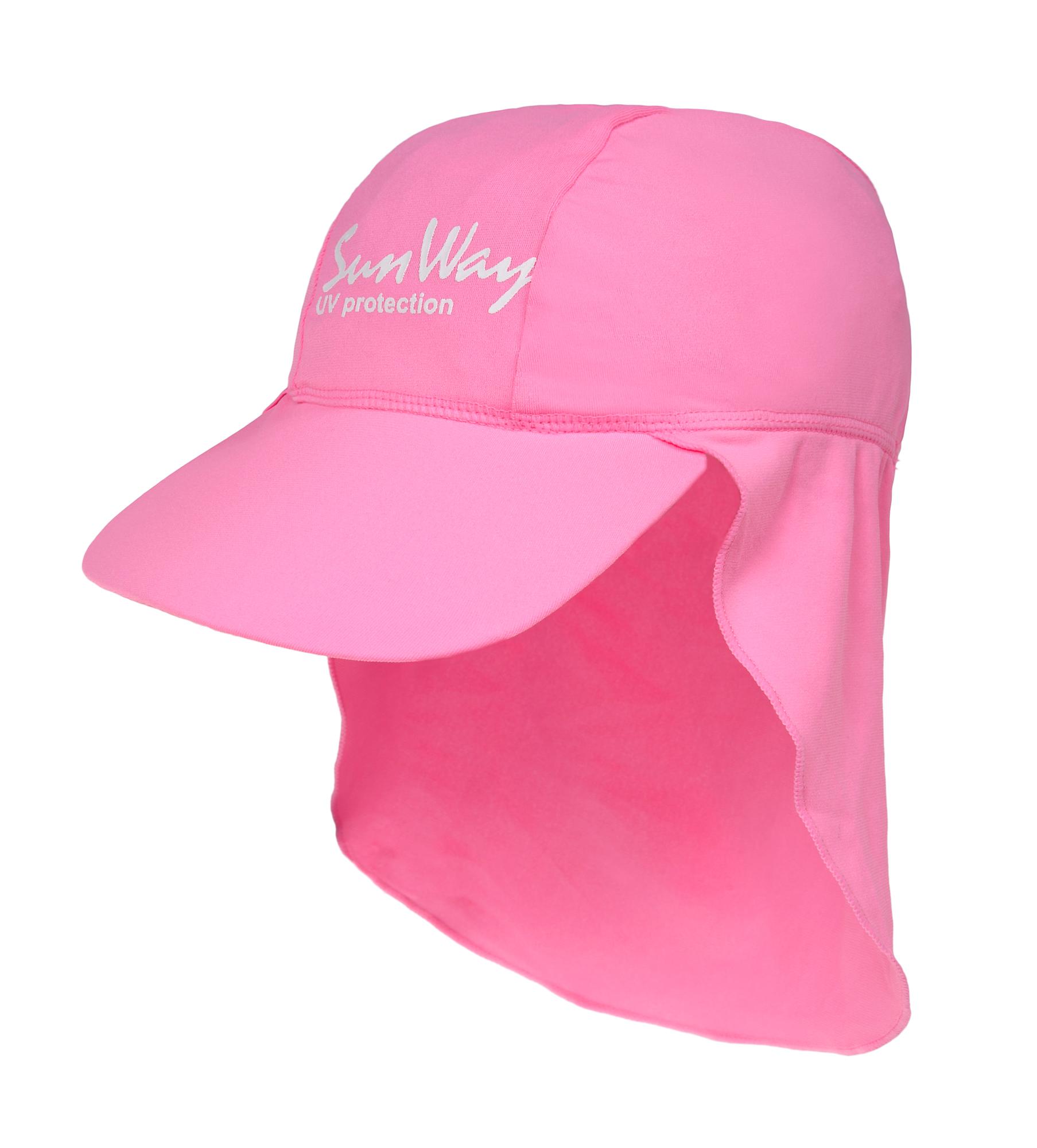 Αντηλιακό καπέλο baby UV l. pink