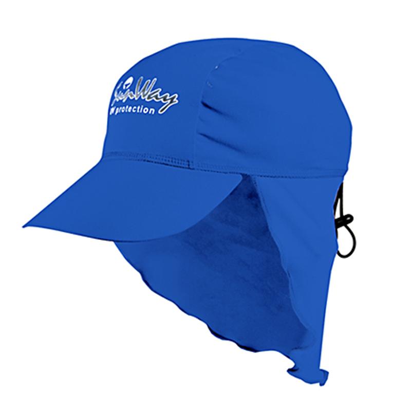 Αντηλιακό καπέλο junior UV blue