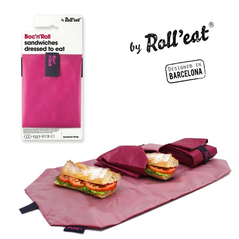 Περιτύλιγμα σάντουιτς φούξια BOC'N'ROLL ECOLIFE