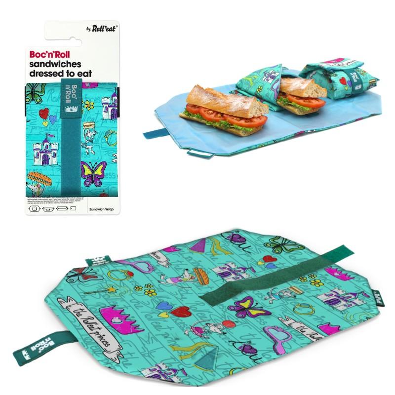 Περιτύλιγμα σάντουιτς τυρκουάζ Princess BOC'N'ROLL EcoLife