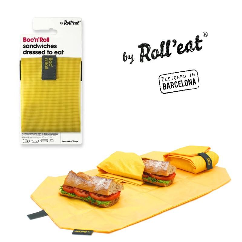 Περιτύλιγμα σάντουιτς κίτρινο BOC'N'ROLL ECOLIFE
