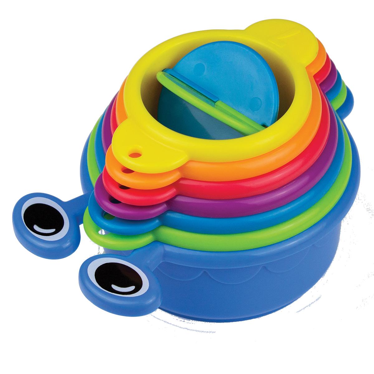 Χρωματιστά ποτήρια μπάνιου Munchkin - Caterpillar Spillers