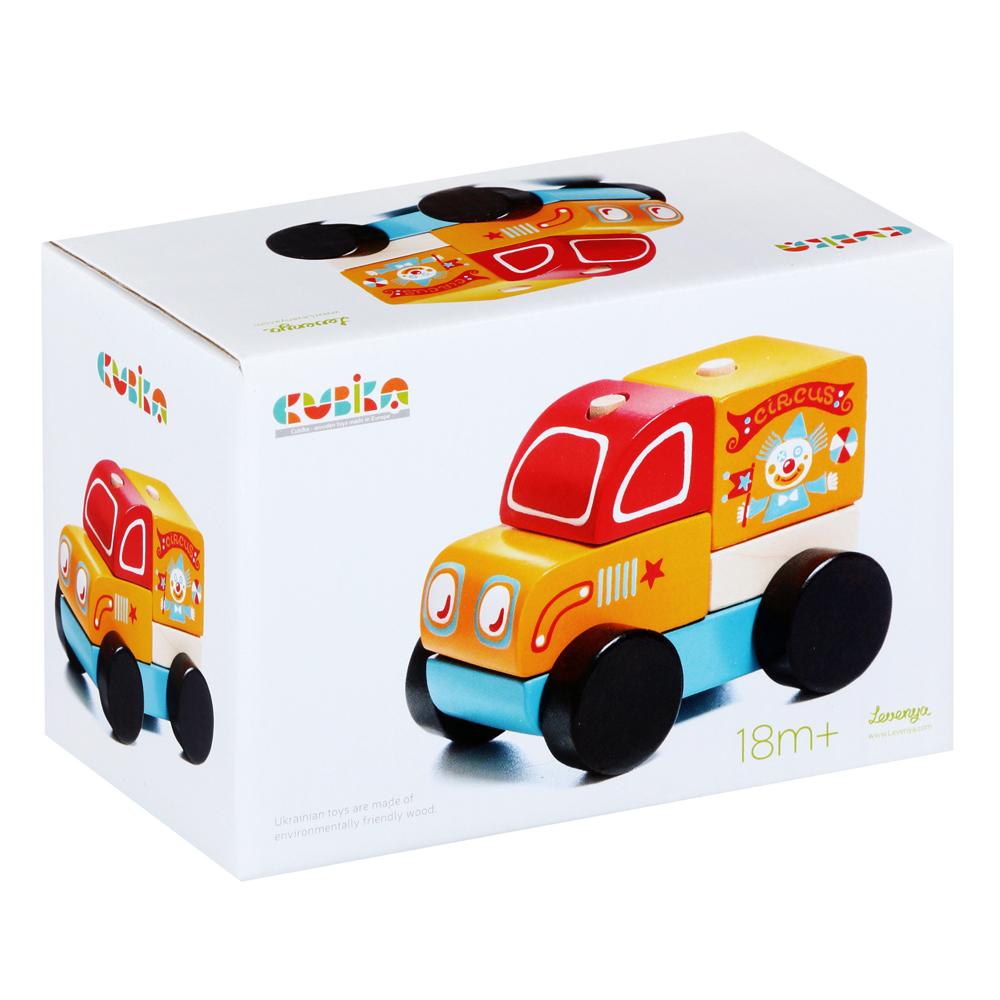 Cubika Ξύλινο Φορτηγάκι ταξινόμησης 10 εκ