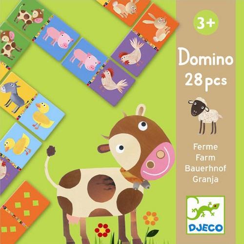 Djeco Ντόμινο 'Ζωάκια φάρμας' 28 τεμ.