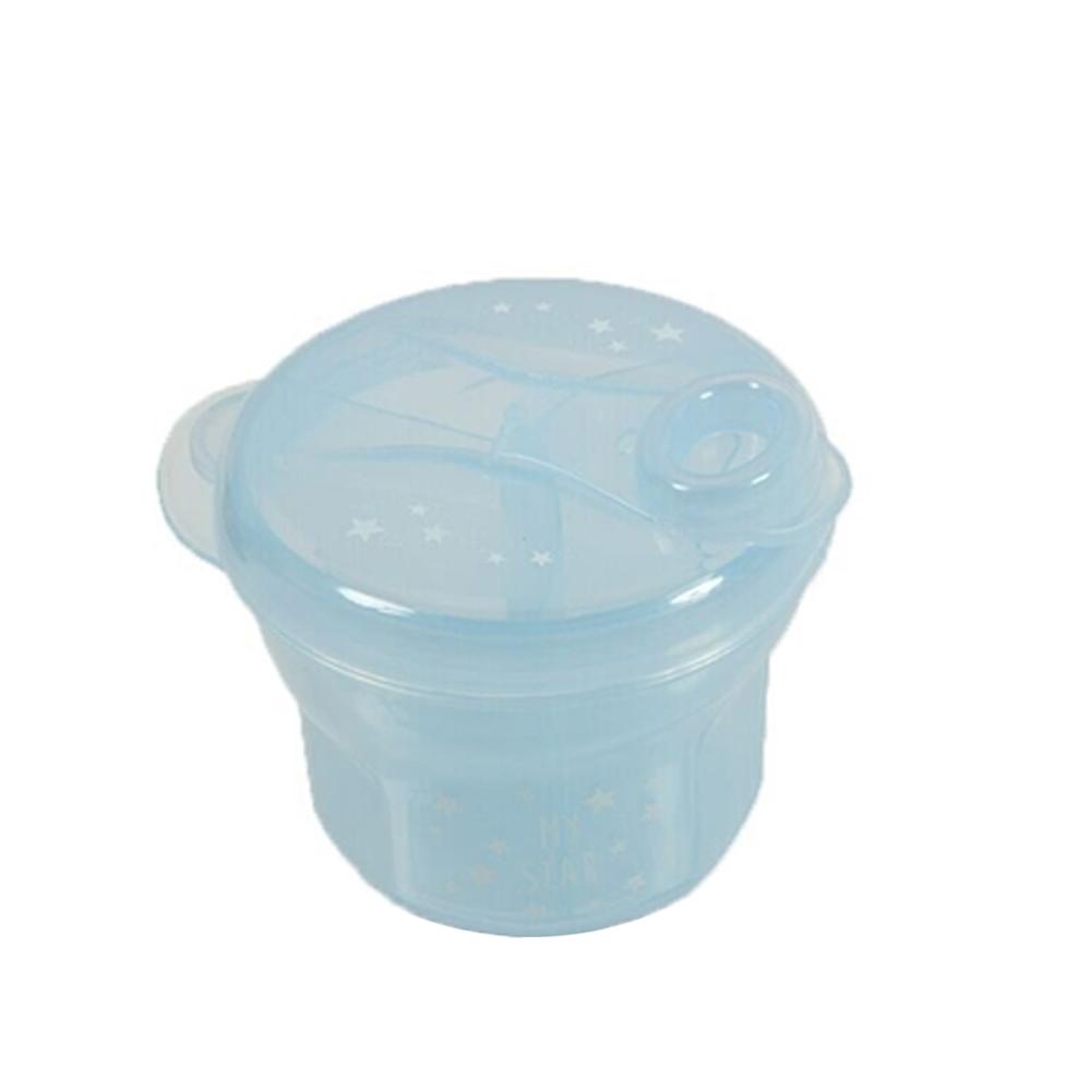 Δοχείο-μπωλ για γάλα σκόνη γαλάζιο Minene