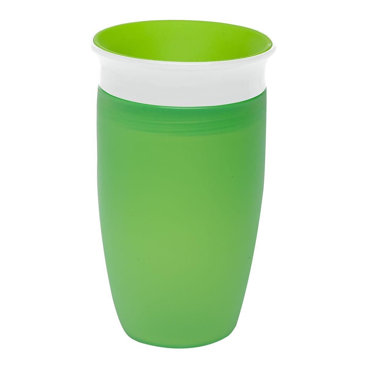 Εκπαιδευτικό πράσινο ποτήρι 296ml Miracle 360° Munchkin