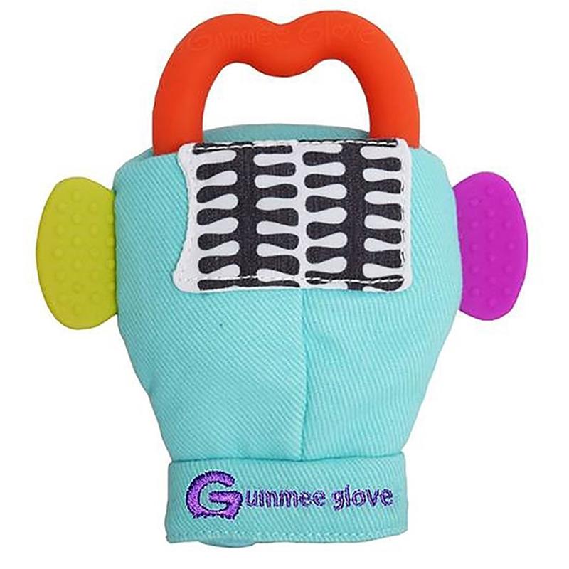 Γάντι οδοντοφυΐας Gumme glove Plus τυρκουάζ