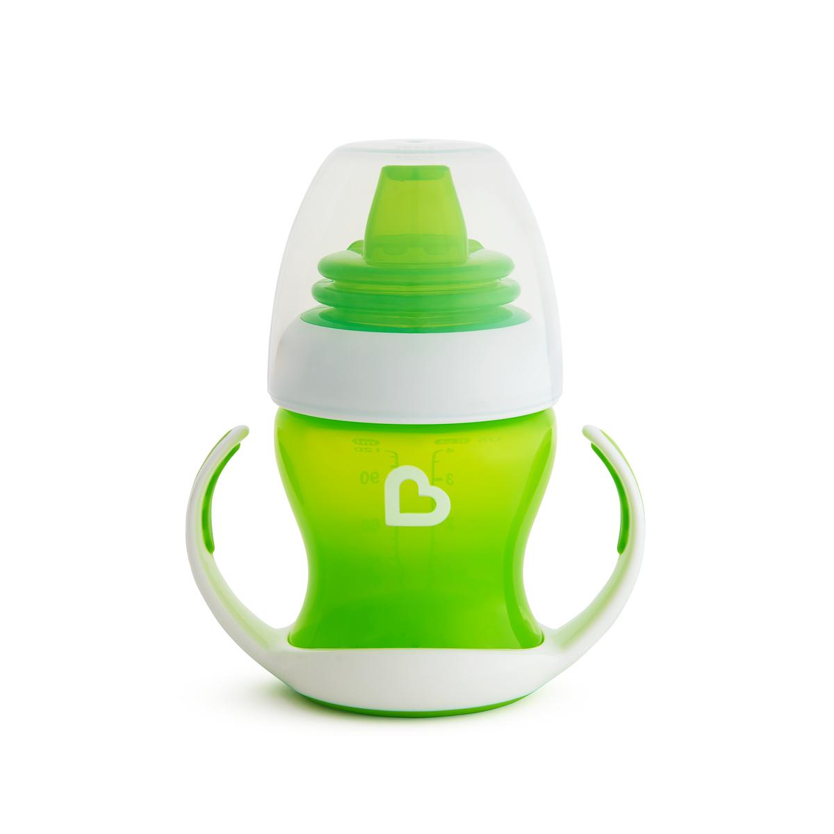 Εκπαιδευτικό πράσινο ποτήρι Gentle first cup Munchkin