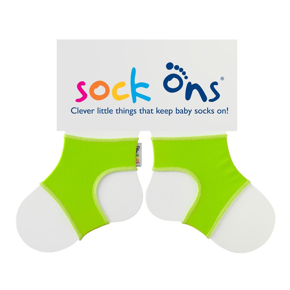 Καλτσάκια Sock Ons για μωρά πράσινο (6-12μηνών)