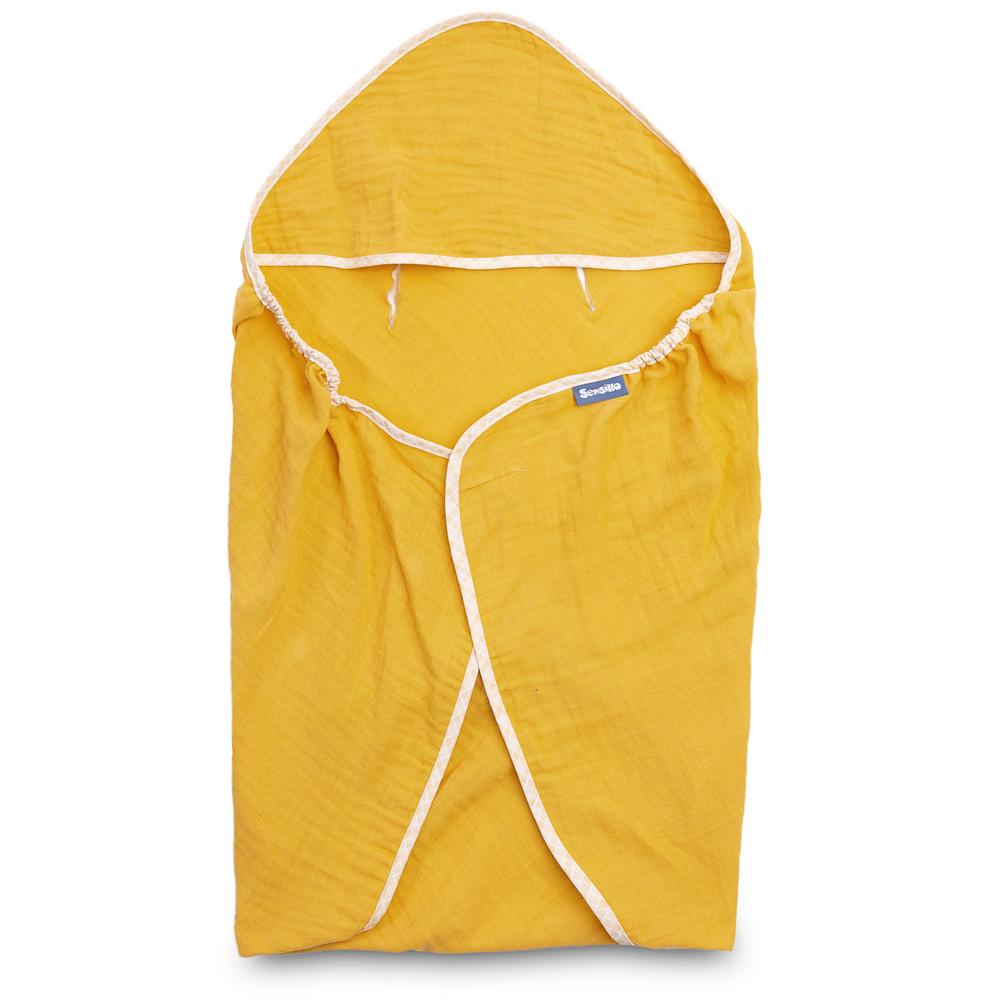 Κάλυμμα καθίσματος αυτοκινητου sensillo Muslin yellow