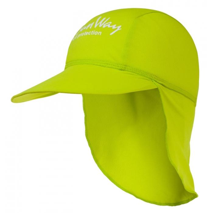 Αντηλιακό καπέλο baby UV lime