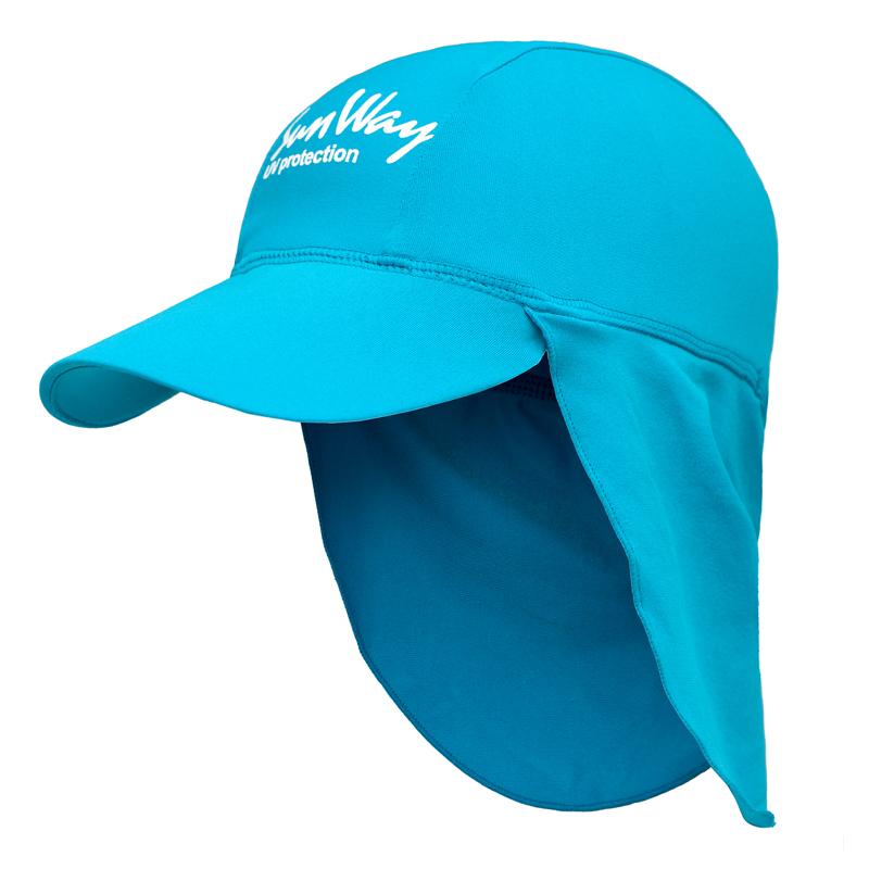 Αντηλιακό καπέλο junior UV Light blue