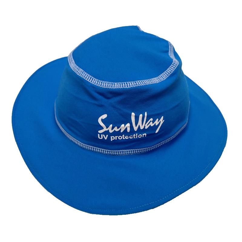Αντηλιακό καπέλο στρογγυλό UV blue
