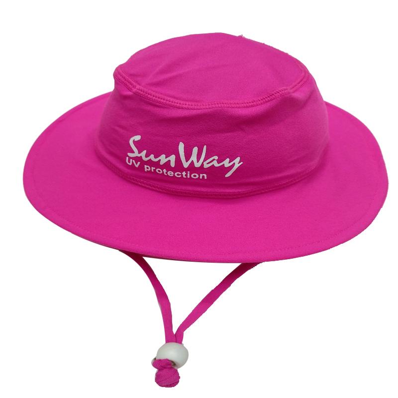 Αντηλιακό καπέλο στρογγυλό UV fuxia