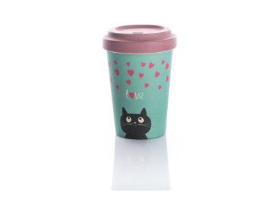 Κούπα BambooCup - Kitty Love