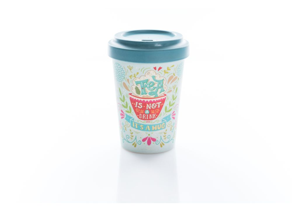 Κούπα BambooCup - Tea Is A Hug