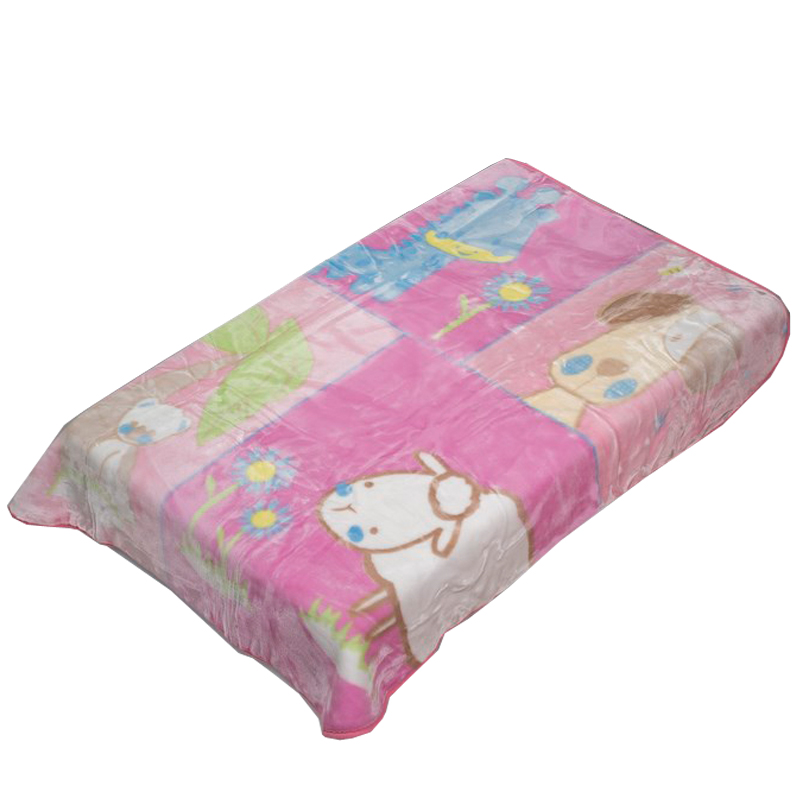Βρεφική κουβέρτα κούνιας ζωάκια