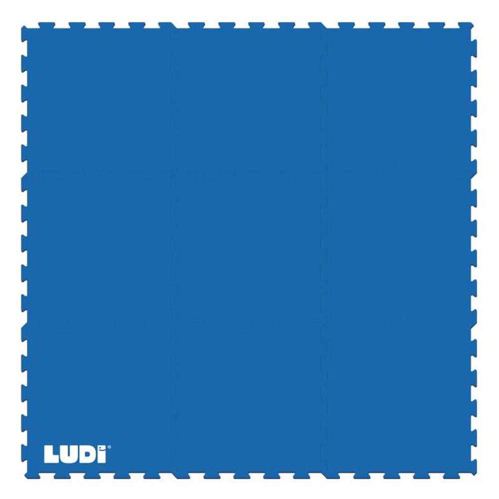 Ludi Δάπεδο ασφαλείας Μπλε 145*145*40εκ