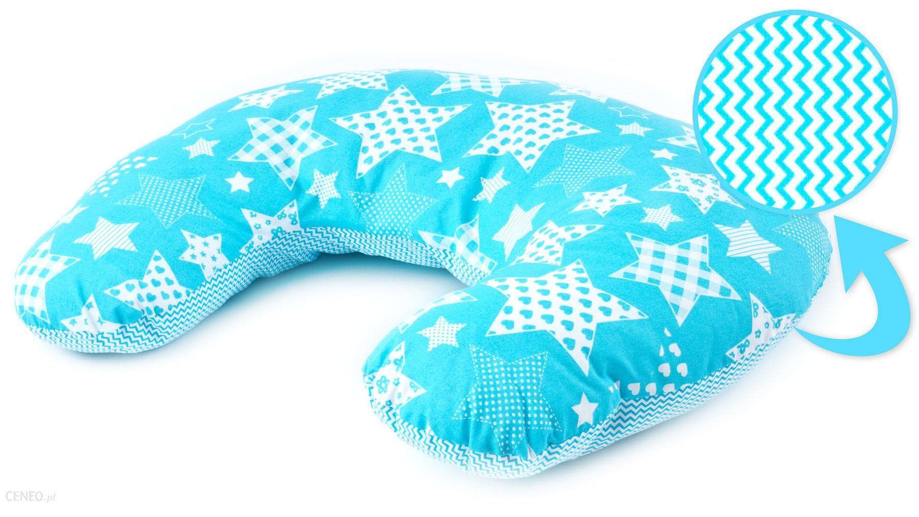 Μαξιλάρι θηλασμού γαλάζιο με αστεράκια  - Sensillo