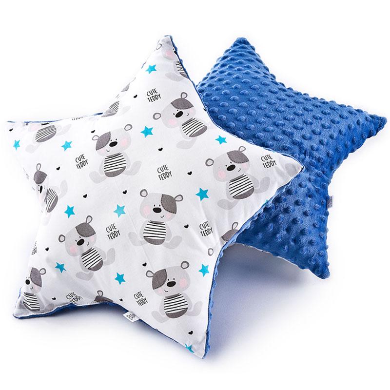 Διακοσμητικό μαξιλάρι αστέρι με αρκουδάκια  - Sensillo