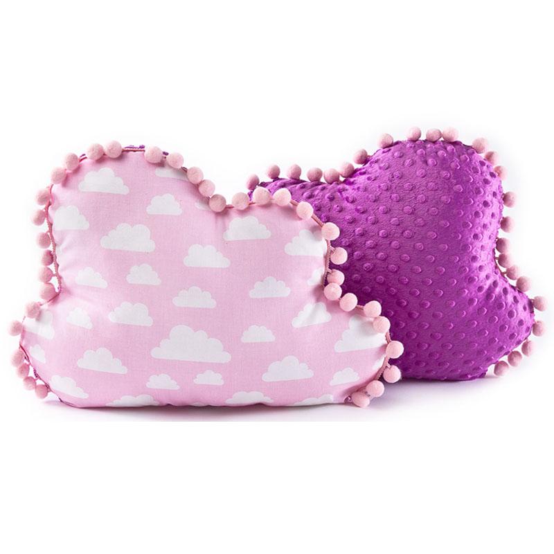 Διακοσμητικό μαξιλάρι ροζ συννεφάκι  - Sensillo