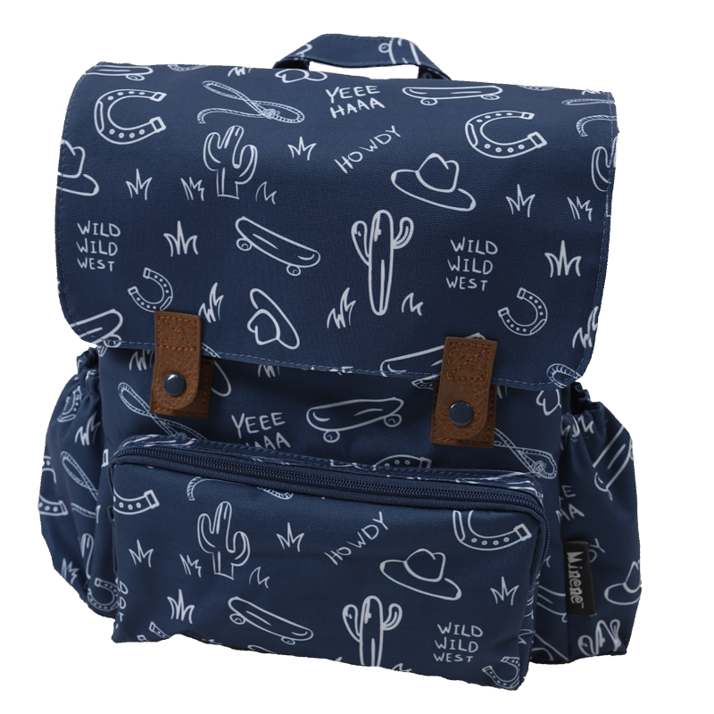 Παιδικό backpack MINENE Wild West