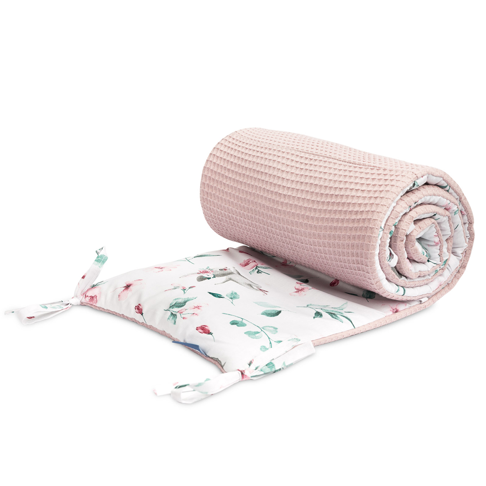 Πάντα Κούνιας sensillo <br> ροζ ιπποπόταμοι 30*180cm