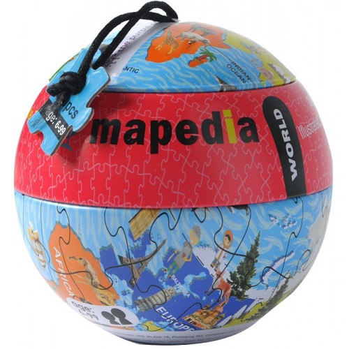 The purple cow Παζλ Παγκόσμιος Χάρτης' 100τεμ
