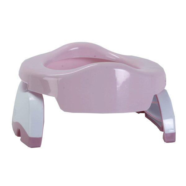 Potette Plus 2 σε 1 - Γιογιό ταξιδίου  ροζ/λευκό