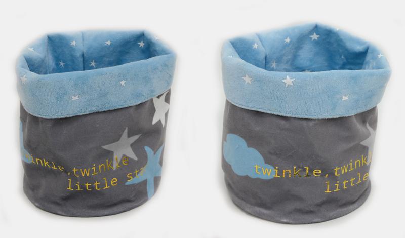 Πουγκί αστέρι σιέλ twinkle little star <br/>15*20cm