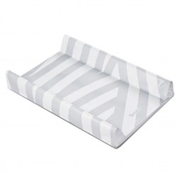 Changing pad Sensillo με μαλακή βάση 70*50cm Grey Stripes.