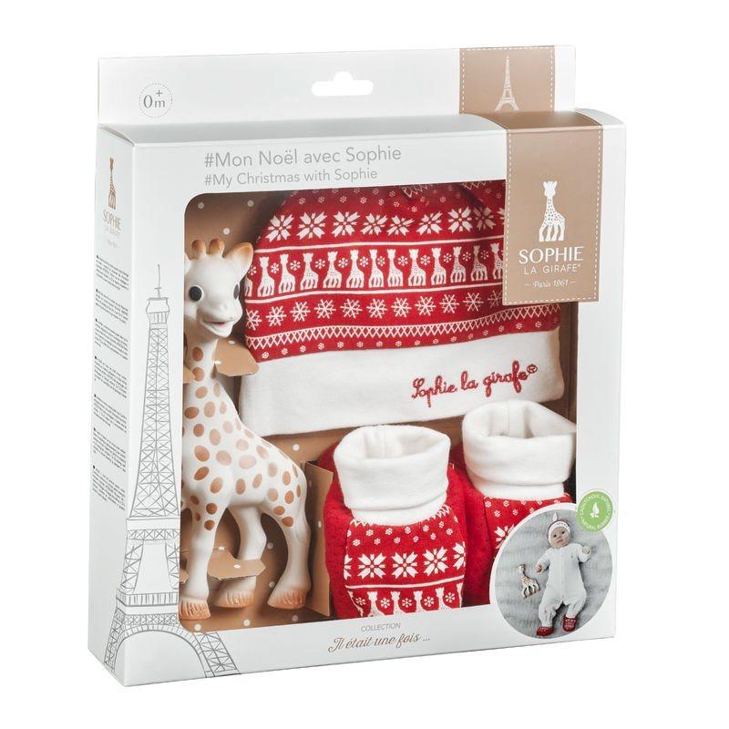 Σετ δώρου Τα πρώτα μου Χριστούγεννα με τη Σόφι - Sophie la girafe