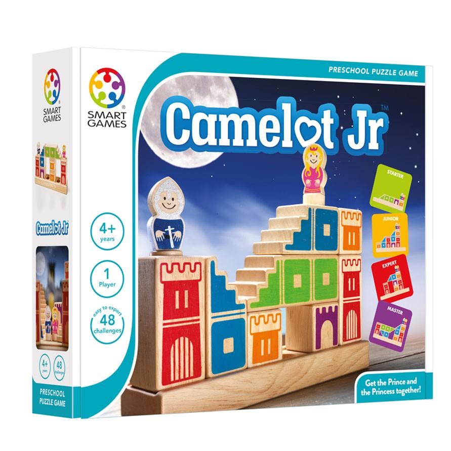 Smartgames επιτραπέζιο ξύλινο κάστρο Κάμελοτ