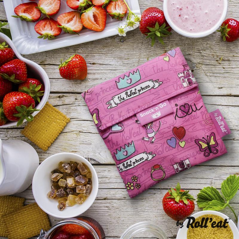Περιτύλιγμα σάντουιτς Snack n' Go Princess-Ροζ EcoLife