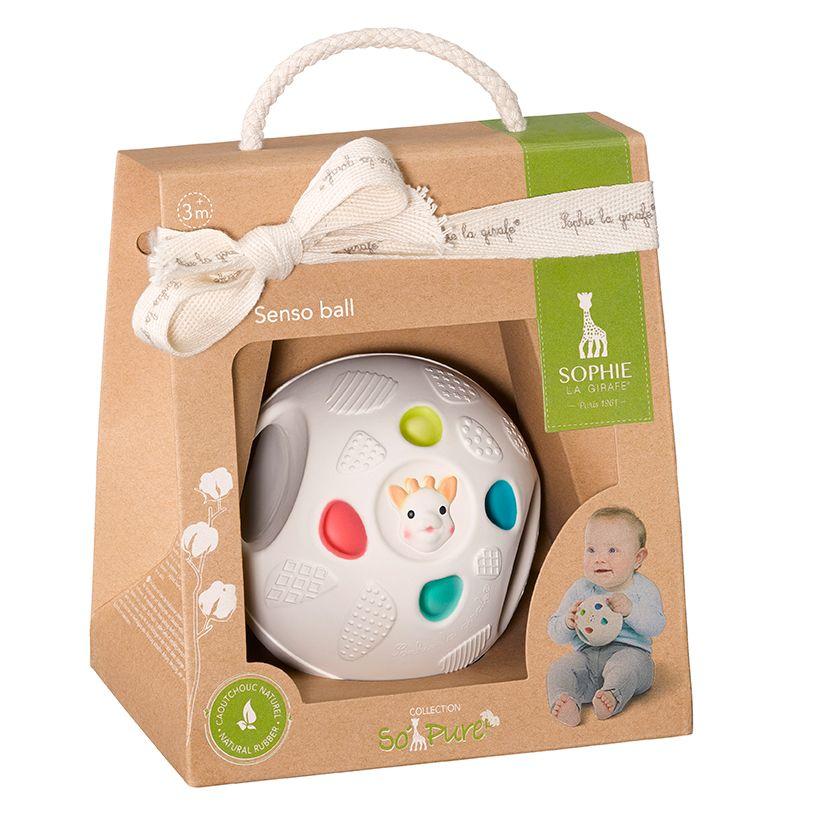Μπάλα που διεγείρει τις αισθήσεις του μωρού Sophie la girafe