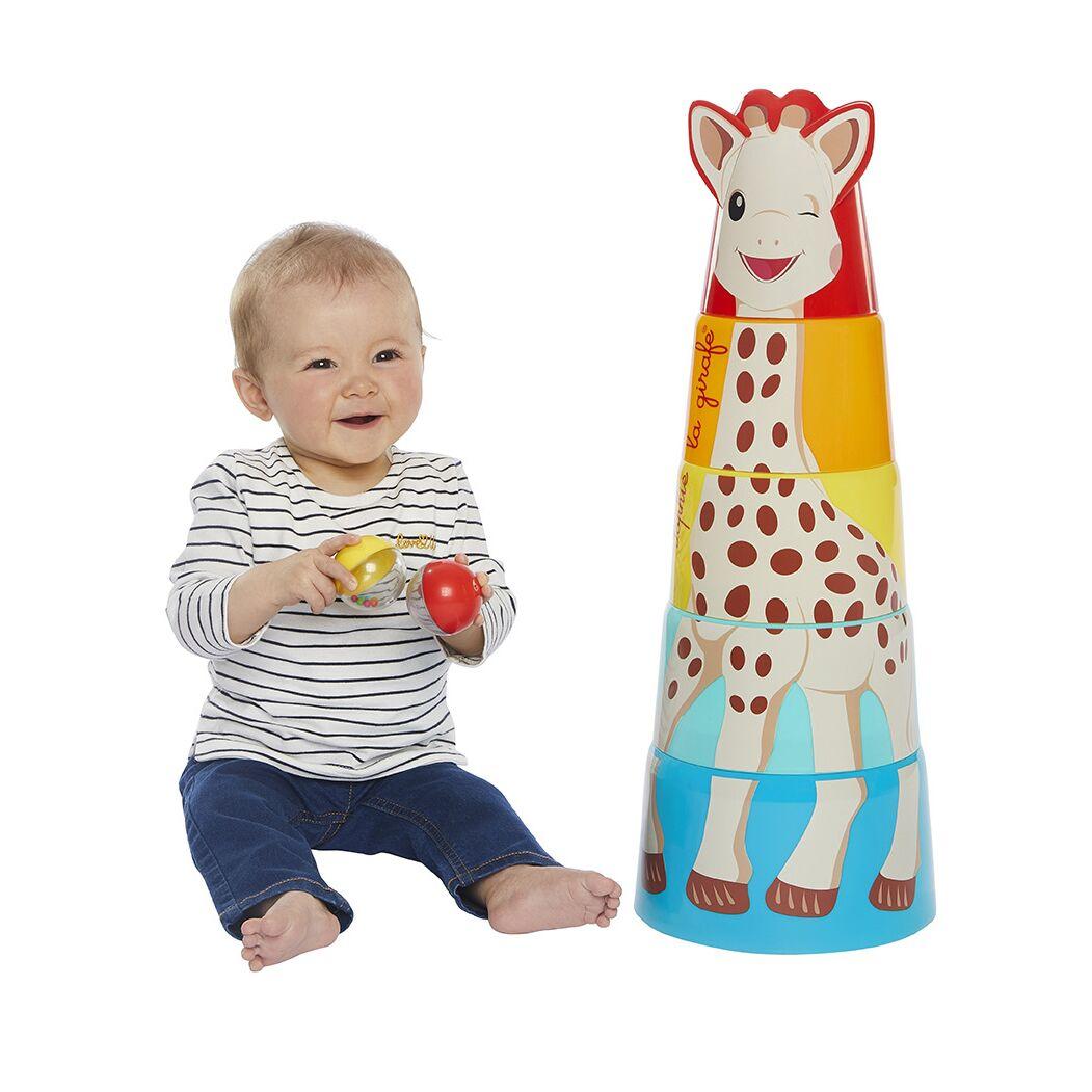 Σόφι καμηλοπάρδαλη Γιγαντιαίος πύργος Sophie la girafe