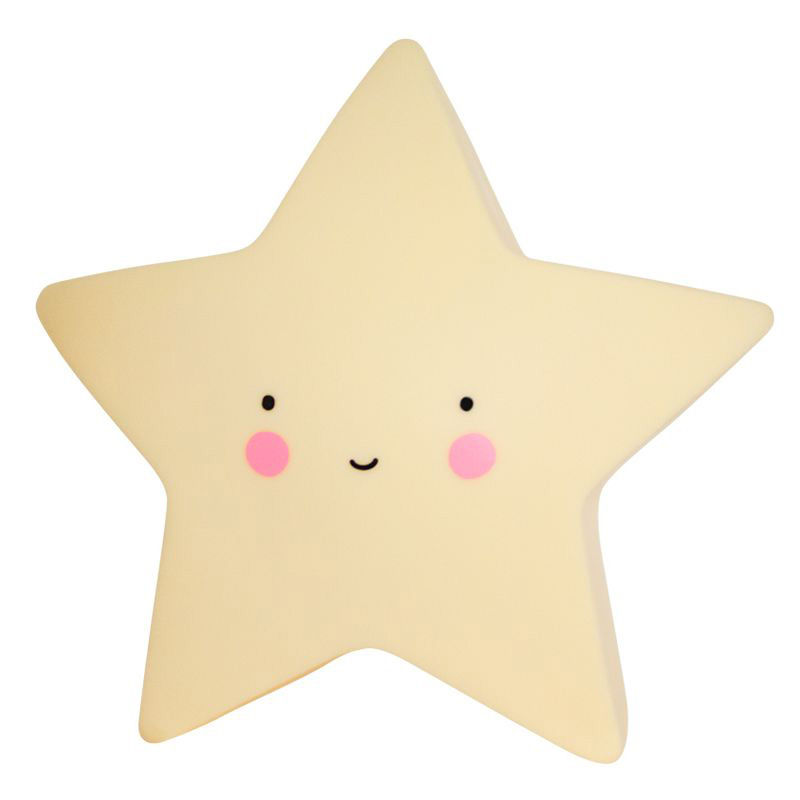 A little lovely company Φωτάκι νυκτός Little Light Star Yellow