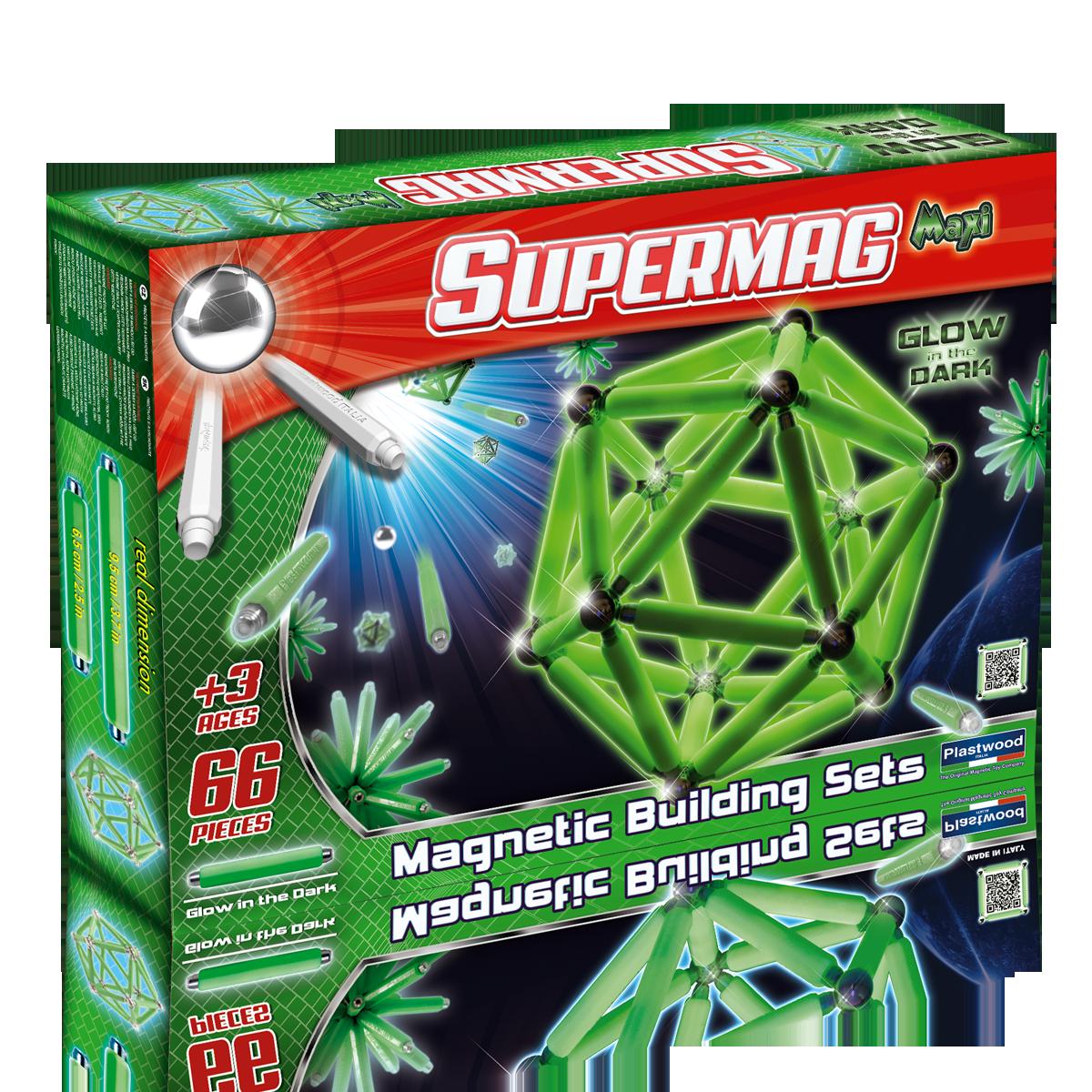 Μαγνητικές Κατασκευές Maxi Φωσφοριζέ 66