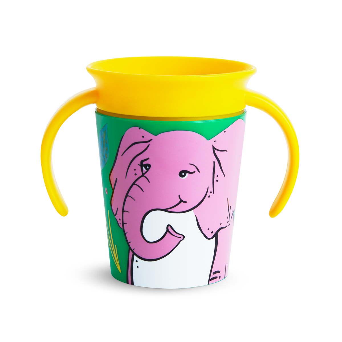 Εκπαιδευτικό ποτήρι 177ml elephant Miracle 360° Munchkin
