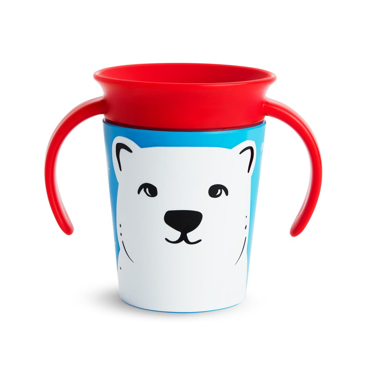 Εκπαιδευτικό ποτήρι 177ml polar bear Miracle 360° Munchkin